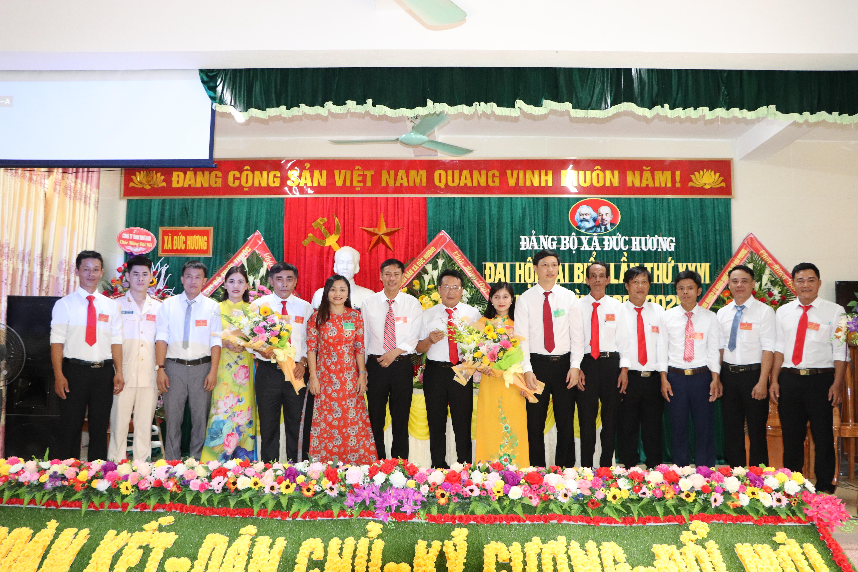 Đảng bộ xã Đức Hương long trọng tổ chức Đại hôi Đản bộ nhiệm kỳ 2020-2025